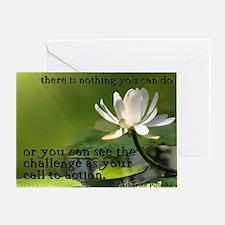 9x7.5_mpad_calltoaction Greeting Card