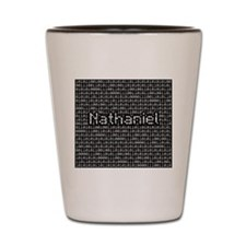 Nathaniel, Binary Code Shot Glass