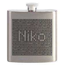 Niko, Binary Code Flask