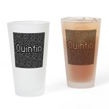 Quintin, Binary Code Drinking Glass