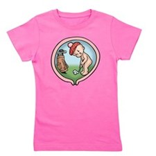 golf-womb-T Girl's Tee