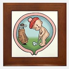 golf-womb-T Framed Tile