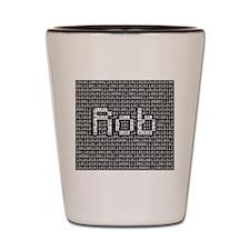 Rob, Binary Code Shot Glass