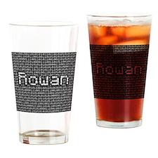 Rowan, Binary Code Drinking Glass