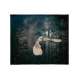 Owl Throw Blankets