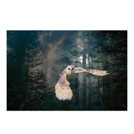 Owl at Midnight Postcards (Package of 8)