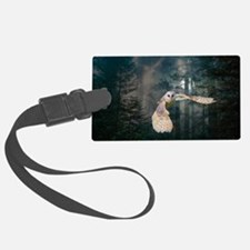 Owl at Midnight Luggage Tag