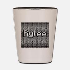 Rylee, Binary Code Shot Glass