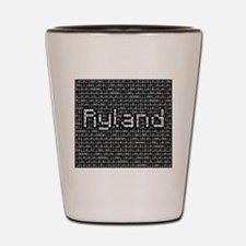 Ryland, Binary Code Shot Glass