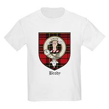 Brody Clan Crest Tartan Kids T-Shirt