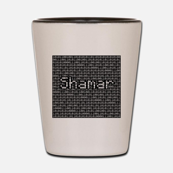 Shamar, Binary Code Shot Glass