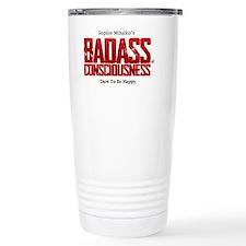 badass logo Travel Mug