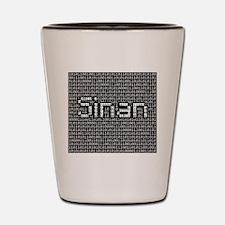 Sinan, Binary Code Shot Glass