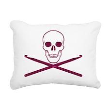 hooker back Rectangular Canvas Pillow