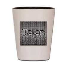 Talan, Binary Code Shot Glass