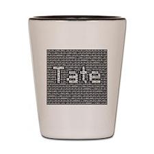 Tate, Binary Code Shot Glass