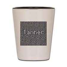 Tanner, Binary Code Shot Glass