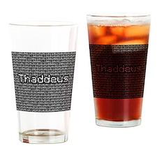 Thaddeus, Binary Code Drinking Glass
