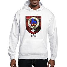 Bruce Clan Crest Tartan Hoodie