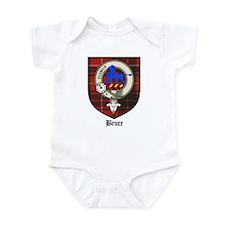 Bruce Clan Crest Tartan Infant Bodysuit