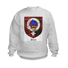 Bruce Clan Crest Tartan Sweatshirt
