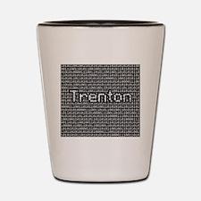 Trenton, Binary Code Shot Glass
