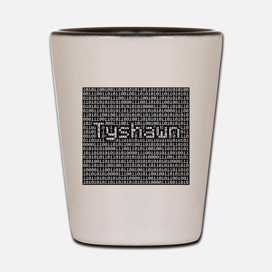 Tyshawn, Binary Code Shot Glass