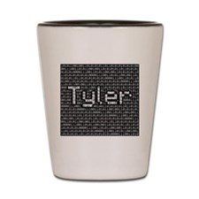 Tyler, Binary Code Shot Glass