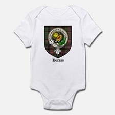 Buchan Clan Crest Tartan Infant Bodysuit