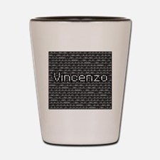 Vincenzo, Binary Code Shot Glass