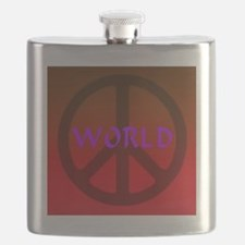world_peace_red Flask