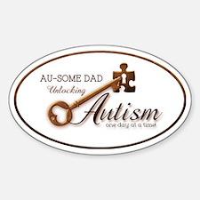 unlockingautism-AuSomeDad-outlinedo Decal