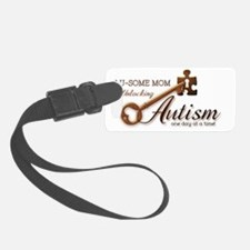 unlockingautism-AuSomeMom Luggage Tag