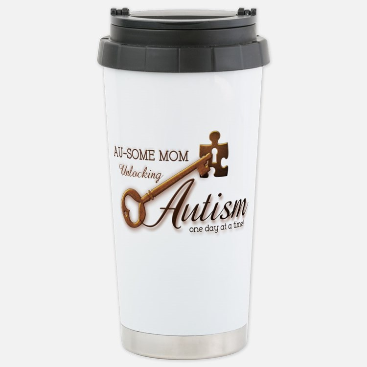 unlockingautism-AuSomeMom Travel Mug