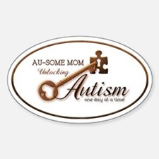 unlockingautism-AuSomeMom-outlinedo Decal