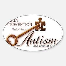 unlockingautism-EarlyIntervention Decal