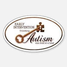 unlockingautism-EarlyIntervention-o Decal