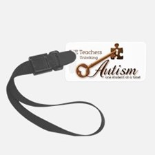 unlockingautism-ESEteachers Luggage Tag