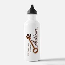 unlockingautism-ESEtea Water Bottle