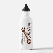 unlockingautism-EarlyI Water Bottle
