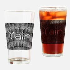Yair, Binary Code Drinking Glass