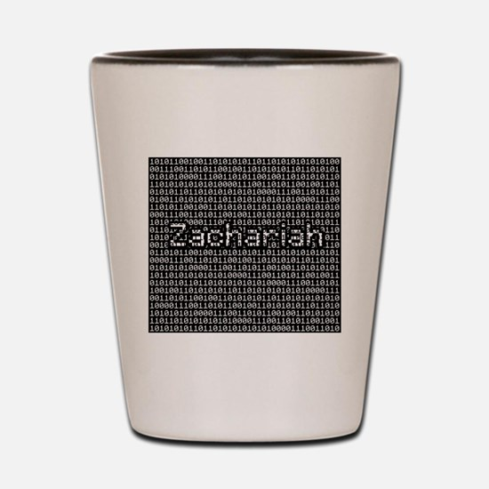 Zachariah, Binary Code Shot Glass