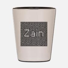 Zain, Binary Code Shot Glass