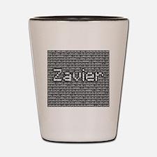 Zavier, Binary Code Shot Glass