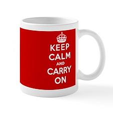 Keep Calm and Carry On Small Mug