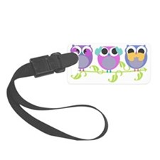 see hear speak no evil colorful  Luggage Tag
