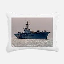 norleans large framed pr Rectangular Canvas Pillow