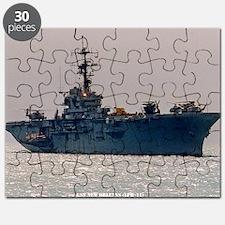 norleans large framed print Puzzle