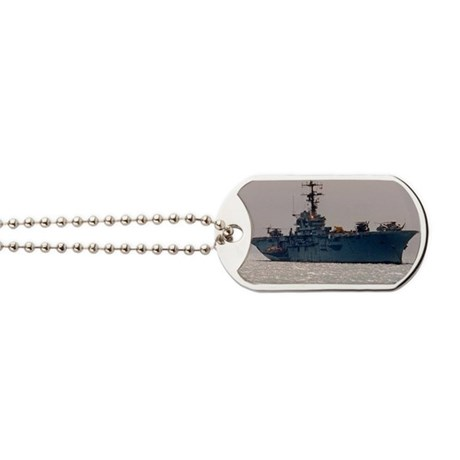 norleans rectangle magnet Dog Tags