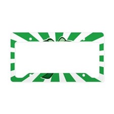 Four Leaf Clover License Plate Holder